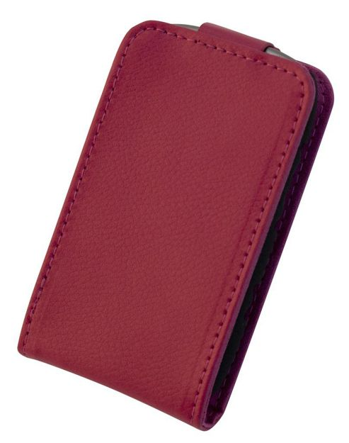 "Tortoise™ Genuine Leather Flip Case BlackBerry® Curveâ""¢ 9320 Pink"