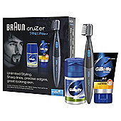 Braun cruZer 6 Precision Trimmer Gift Set
