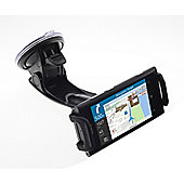 Works with Nokia Licensed In-Car Kit with Clamp Cradle, Suction Holder and In-Car Charger for Universal Nokia Smartphones - Black