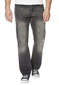 F&F Dark Grey Bootcut Jeans - Dark grey