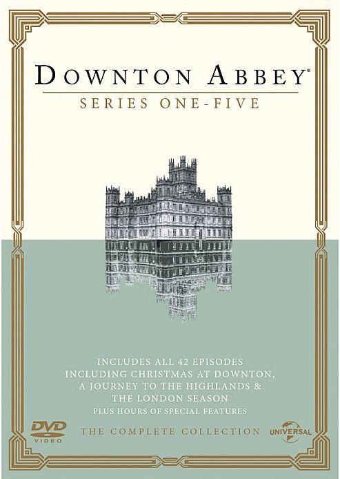 Downton Abbey Series 1-5 DVD