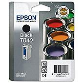 Epson Singlepack Black T040