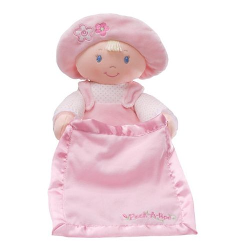 Gund Peek a Boo Dolly Stuffed Toy Pink