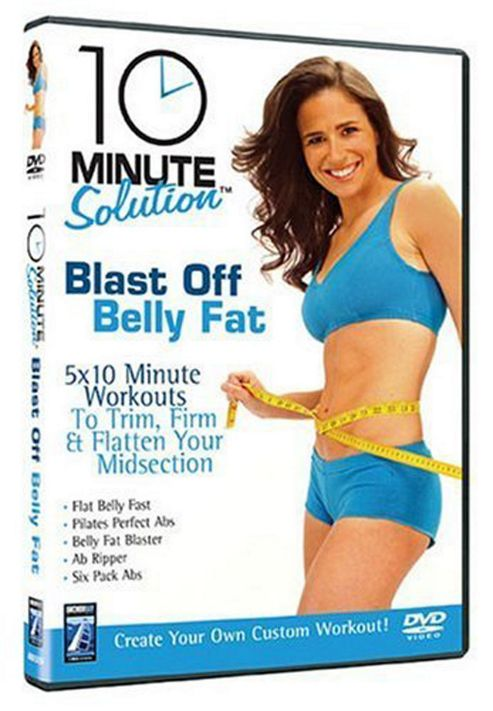 10 Minute Solution - Blast Off Belly Fat (Fitness DVD)