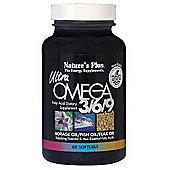 Natures Plus Ultra Omega 3-6-9 1200mg 60 Softgels