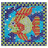 Melissa And Doug Peel And Press Mosaics: Tropical Fish - Melissa & Doug