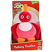 Twirlywoos Talking Toodloo Soft Toy