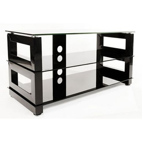 Optimum High Gloss Black TV Stand for up to 46 inch TVs