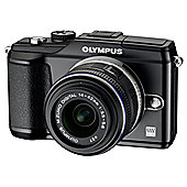 Olympus E-PL2 Digital Camera 14-42mm II Lens Kit (Black)