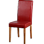 Home Essence G3 Dining Chair in Rustic Red (Set of 2)