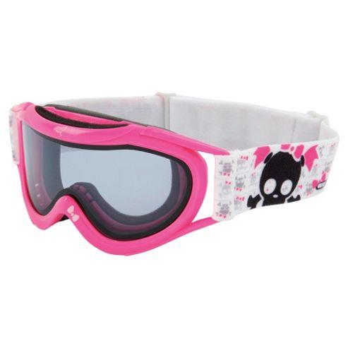 Cebe Super Marwin Ski Goggles Pink Skull Girl