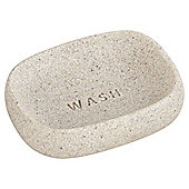TESCO NATURAL STONE EFFECT WORD SOAP DISH