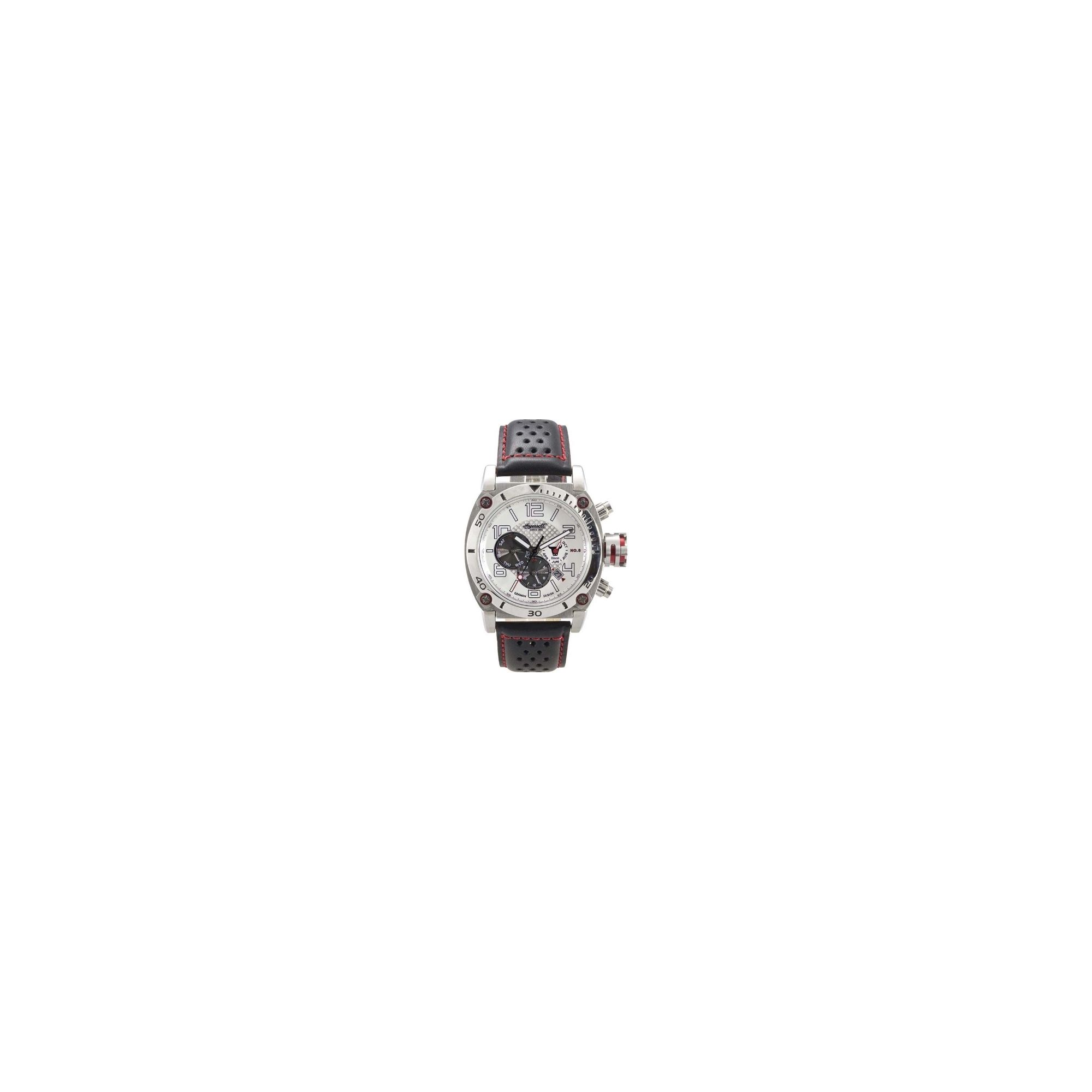 Ingersoll Bison No 8 Strap Watch IN2806WH at Tesco Direct