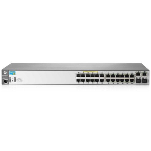 HP E2620-24 Port PoE+ Network Switch