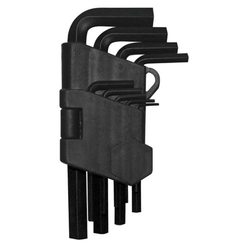 Tesco 9pc Hex Key Set