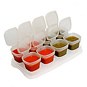 Happy Mummy Baby Cubes Food Portioners 35ml