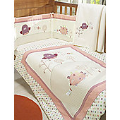 Lollipop Lane Upsy Daisy 4-piece Bedding Bale - White