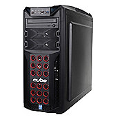 Cube Raptor Special Edition Gaming PC Core i5 with Radeon R9 380 Graphics Full Tower Intel Core i5 Seagate 1Tb SSHD with 8Gb SSD Windows 8 AMD Radeon