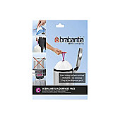Brabantia Perfectfit Bags Size C 10-12 Litre 40 Bag Dispenser Pack