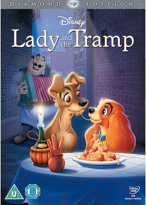 Lady And The Tramp - Disney DVD