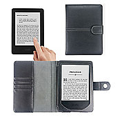 """All New Kindle (2014) 6"""" Glare-Free Touchscreen Black Case Cover & Reading Light"""