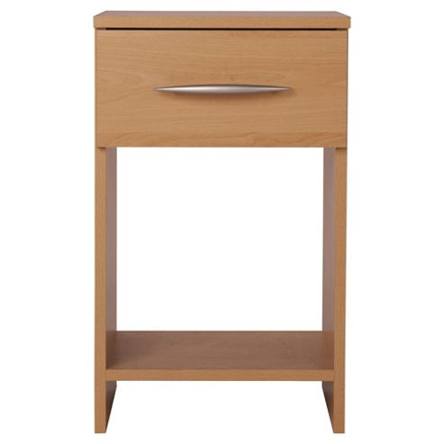 Ashton Bedside Table, Beech