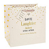 Love and Laughter Wedding Gift Bag