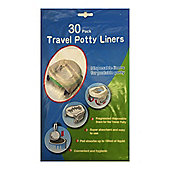 Disposable Travel Potty Liner 30 pack