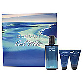 Davidoff Cool Water 75ml Eau de Toilette, 50ml Shower Gel & 50 Aftershave Balm