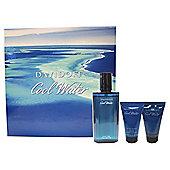 Davidoff Cool Water 75ml Eau de Toilette, 50ml Shower Gel & 50 Aftershave Balm