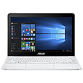 "Asus E200HA 11.6"" Intel Atom 2GB RAM 32GB eMMC White Laptop Includes Office 365"