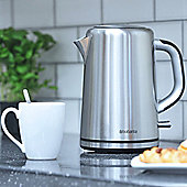 Brabantia BBEK1001 1.7 Litre Jug Kettle - Brushed Stainless Steel