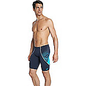Speedo Mens Fit V Jammers - Blue