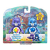 Care Bears Figure Twin Pack - Grumpy Bear & Harmony Bear