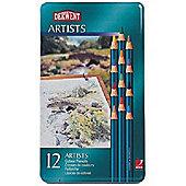 Derwent Artists Tin 12
