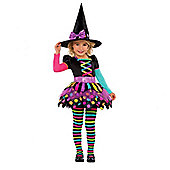 Miss Matched Witch - Child Costume 6-8 years