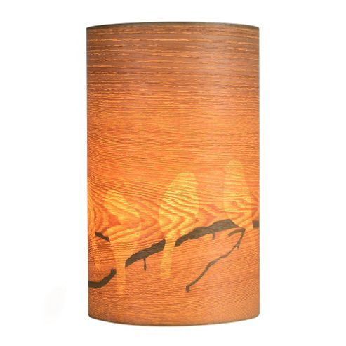 Buy Wood Veneer Table Lamp Bird Cut Outs From Our Table
