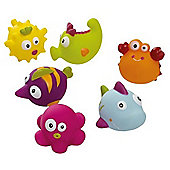 Tippitoes Seaside Pals (Set of 6)