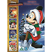 Mickey's Christmas Collection (Once Upon, Twice Upon, Magical Christmas, Celebrate Christmas) DVD
