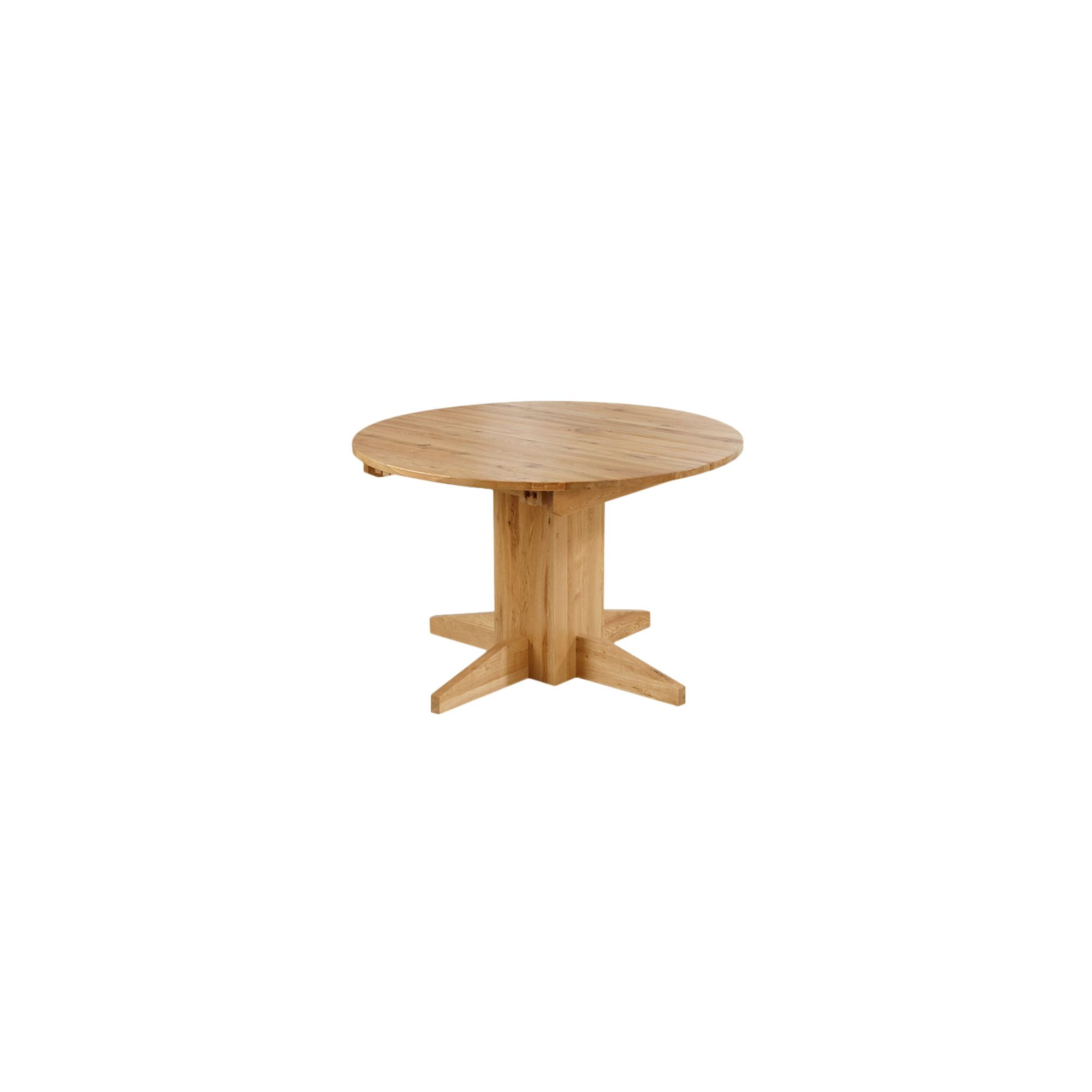 Mark Harris Furniture Monte Carlo Round Solid Oak Dining Table