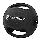 Marcy Double Handle Medicine Ball Rubber - 3kg