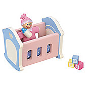 Rosebud Village Wooden House Nursery Room Set