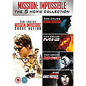 Mission Impossible Season 1-5 DVD