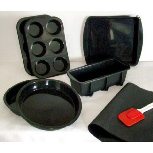 Wellbake Professional 7 Piece Gourmet Non-Stick Silicone Bakeware Gift Set