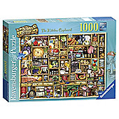 Ravensburger Curious Cupboards The Kitchen Cupboard, 1000-Piece Jigsaw Puzzle