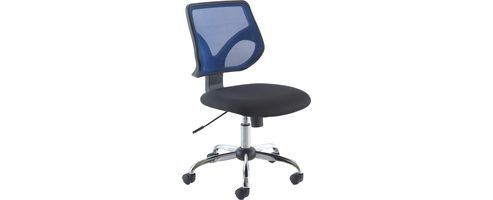 Jemini Medium Back Task Chair Blue KF73603