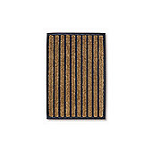 Dandy Sherpa Striped Mat - 60cm x 40cm