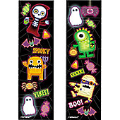 Halloween Party Sticker Strips (8pk)