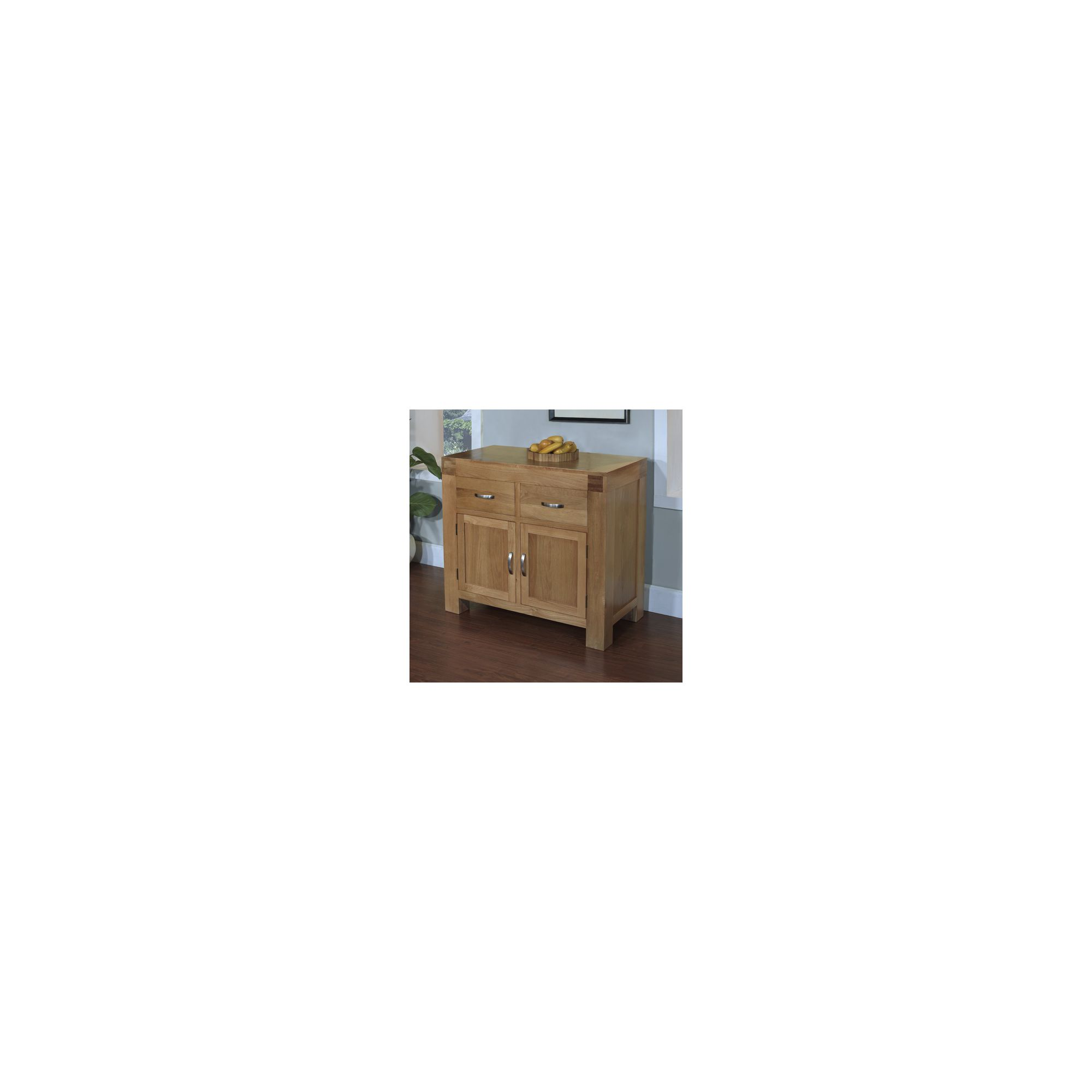 Hawkshead Rustic Oak Blonde Small Dresser Base at Tesco Direct