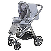 Bebecar Ip-Op Evolution Silver Pushchair (Mystic Grey)